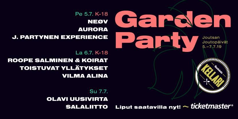 Mainos: Garden Party