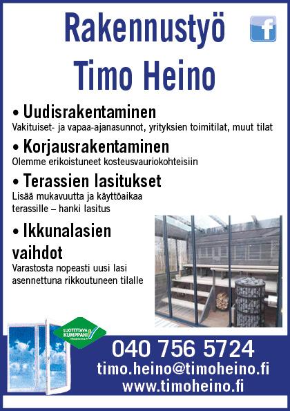 Rakennustyö Timo Heino